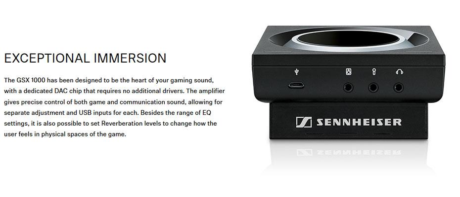 Sennheiser GSX 1000 Dac-Amp ขาย