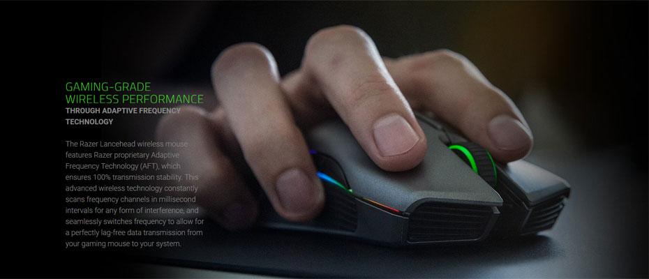 เมาส์ไร้สาย Razer Lancehead Wireless Gaming Mouse ซื้อ