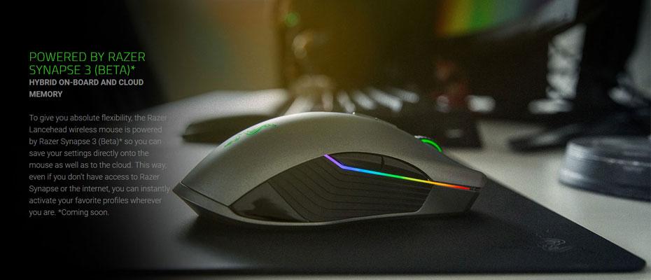 เมาส์ไร้สาย Razer Lancehead Wireless Gaming Mouse ขาย