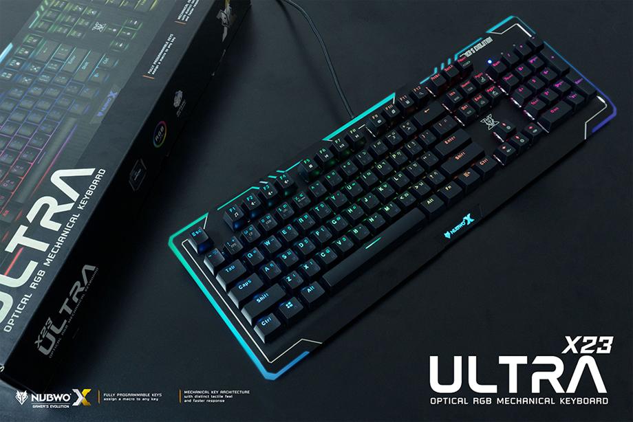 Nubwo Ultra X23 Mechanical Keyboard รีวิว