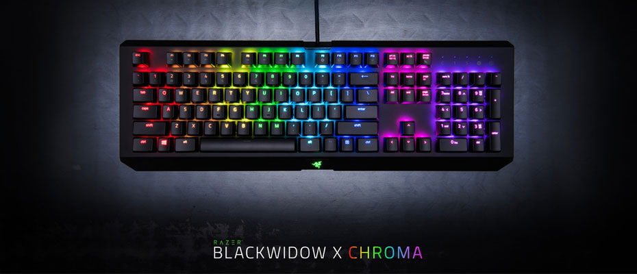คีย์บอร์ด Razer BlackWidow X Chroma Gunmetal Gray Mechanical Keyboard Green SW ราคา