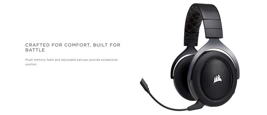 หูฟังไร้สาย Corsair HS70 Wireless Gaming Headset ราคา