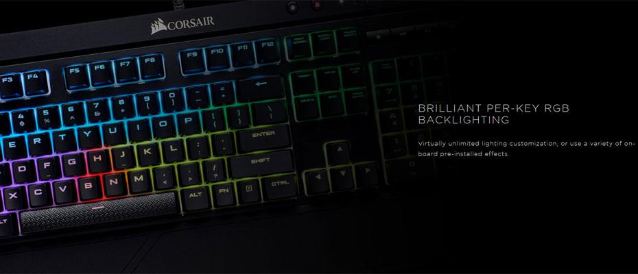 คีย์บอร์ด Corsair K68 RGB Mechanical Keyboard Red Switch (Thai) ซื้อ