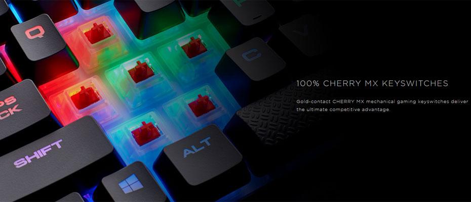 คีย์บอร์ด Corsair K68 RGB Mechanical Keyboard Red Switch (Thai) ขาย