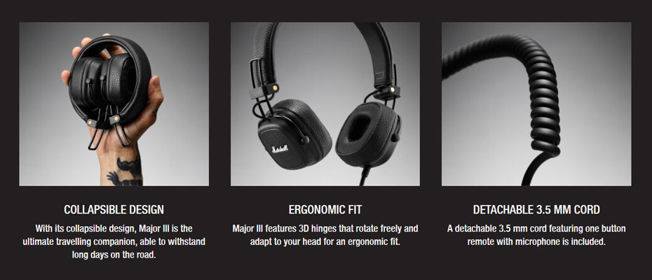 หูฟัง Marshall Major III On-Ear Headphone ขาย