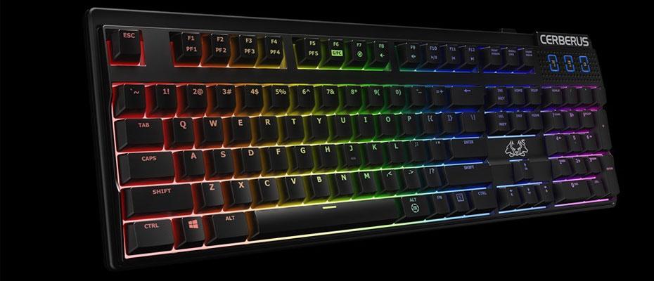 Asus Cerberus Mech RGB Mechanical Keyboard Red Switch ราคา