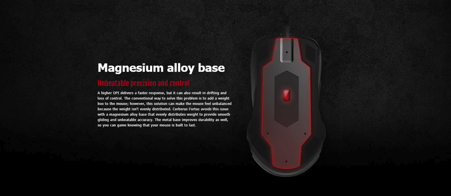 Asus Cerberus Fortus Wireless Mouse พรีวิว