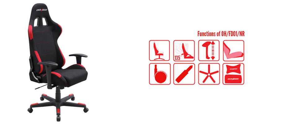 เก้าอี้ dxracer fd01 ราคา