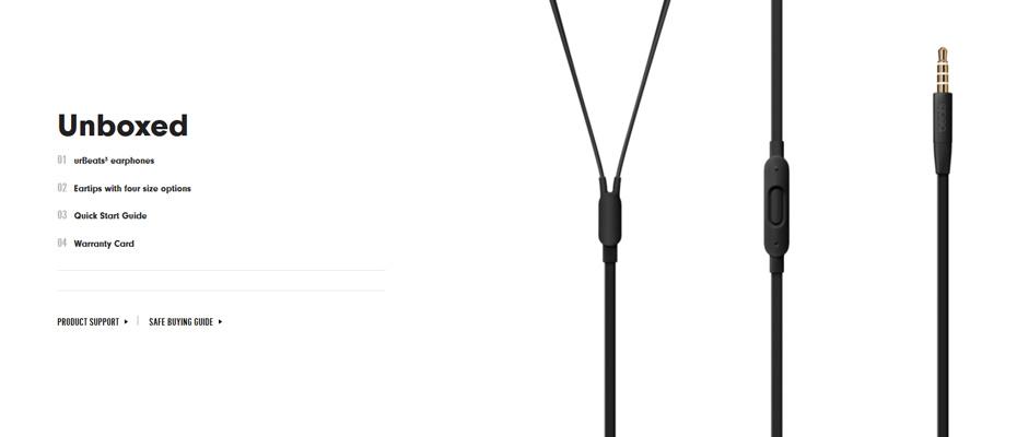 รีวิว หูฟัง Beats urBeats 3 In-Ear Headphone ขาย