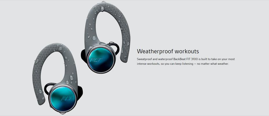 หูฟังไร้สาย Plantronics BackBeat Fit 3100 True Wireless ซื้อ