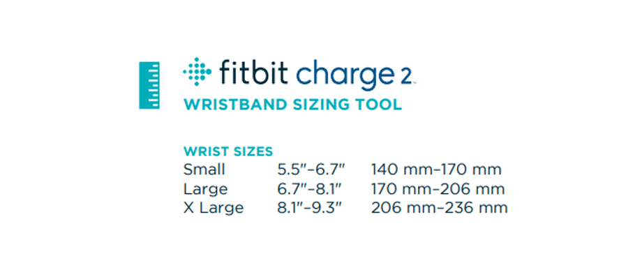 Fitbit-Charge-2-Fitness-Tracker-ขนาด