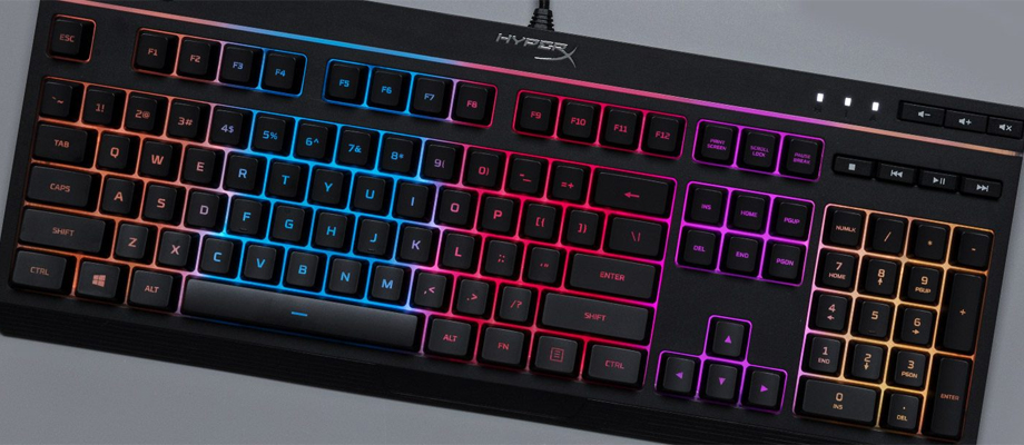 HyperX Keyboard Alloy Core RGB สเปค