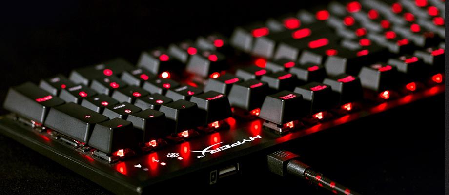 HyperX Keyboard Alloy FPS RGB หน้าตา การใช้งาน