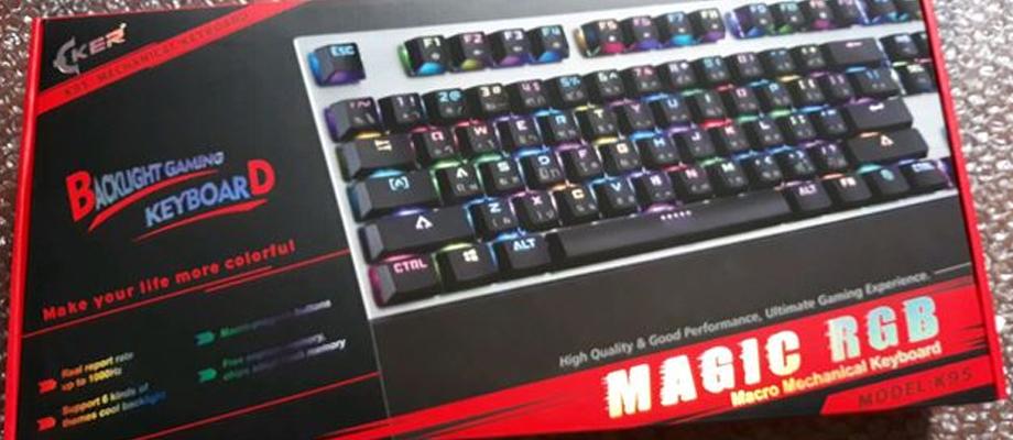Oker K95 Mechanical Keyboard รีวิว