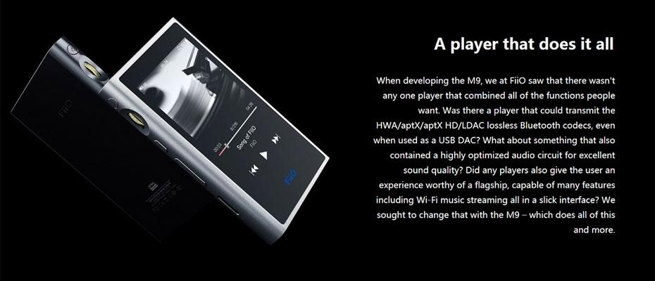 เครื่องเล่นเพลง Fiio M9 ซื้อ