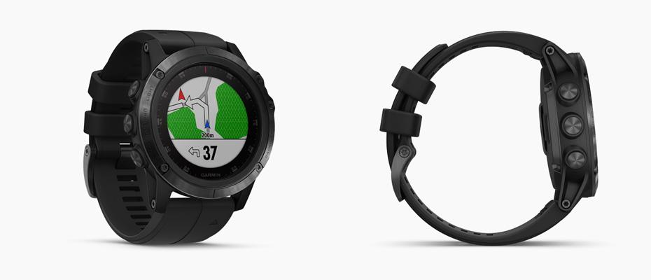 Garmin Fenix 5 Plus Sapphire DLC Carbon Sport Watch ซื้อ