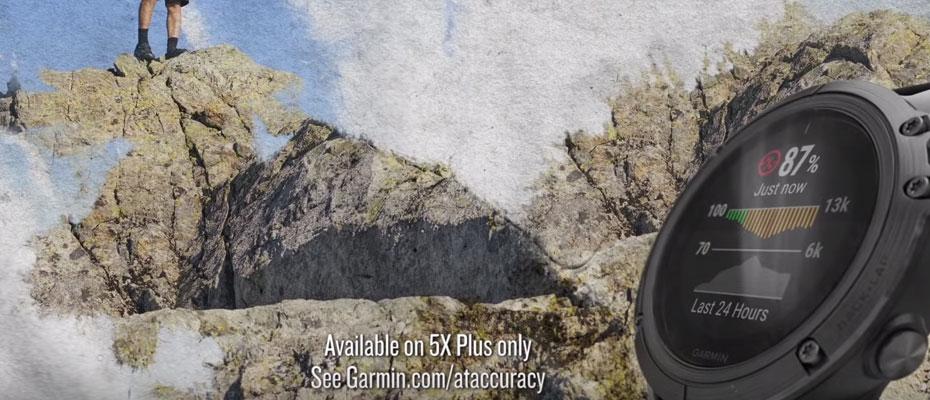 Garmin Fenix 5 Plus Sapphire DLC Titanium Sport Watch ขาย