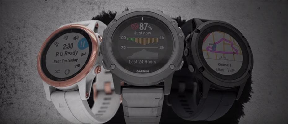 Garmin Fenix 5X Plus Sapphire DLC Carbon Sport Watch ซื้อ