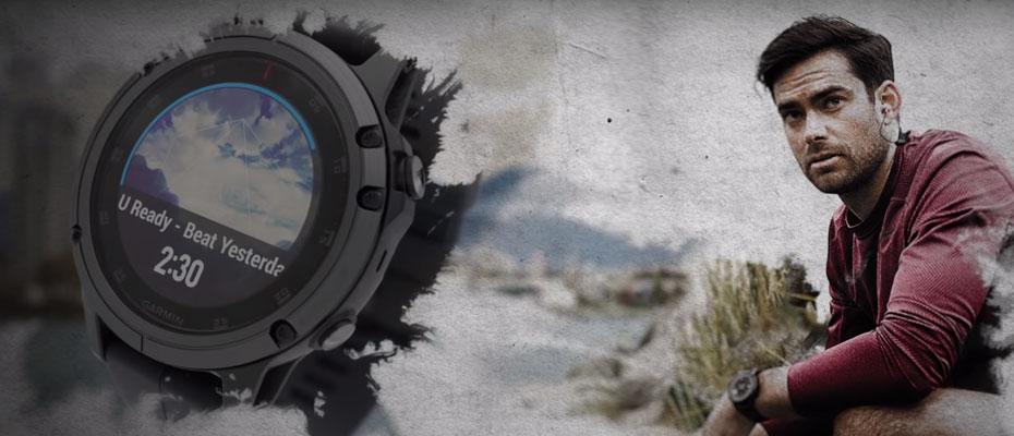 Garmin Fenix 5X Plus Sapphire DLC Carbon Sport Watch ขาย