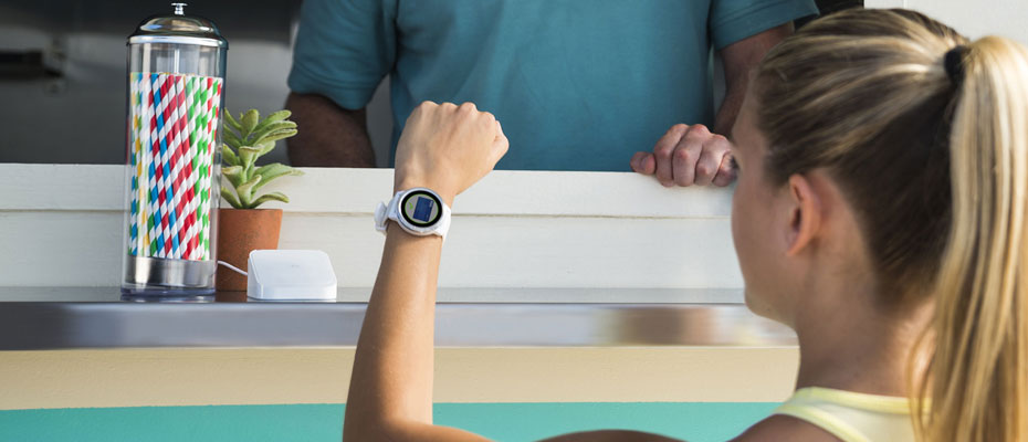 Garmin Fenix 5X Plus Sapphire DLC Titanium Sport Watch ขาย