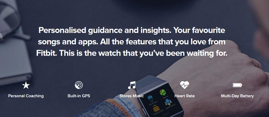 Fitbit-Ionic-Fitness-Tracker-จุดเด่น