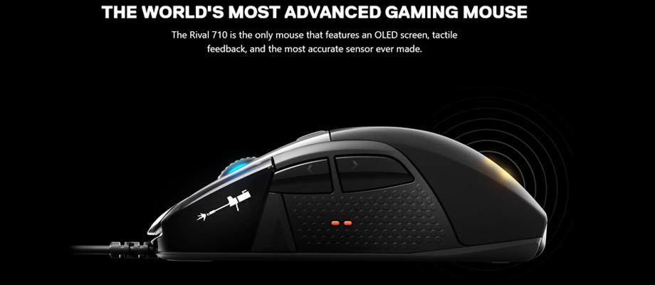 Steelseries - Gaming Mouse - Rival 710 - จุดเด่น