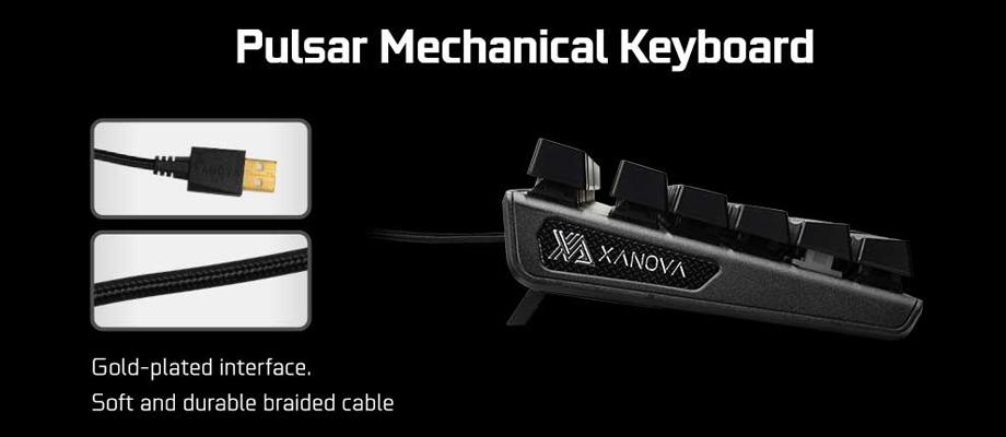 Xanova Pulsar Keyboard รีวิว