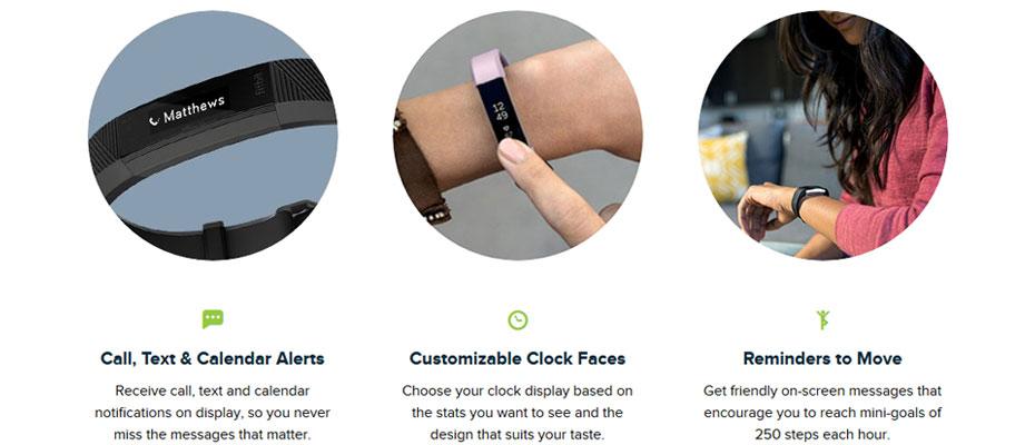 Fitbit Alta HR Large Fitness Tracker ขาย