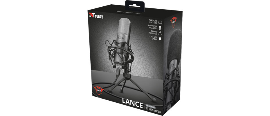 Trust GXT 242 Lance Streaming Microphone ราคา