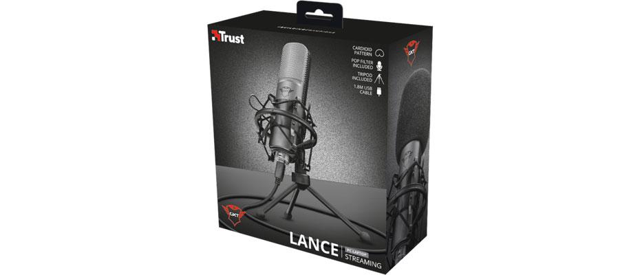 Trust GXT 242 Lance Streaming Microphone ราคา