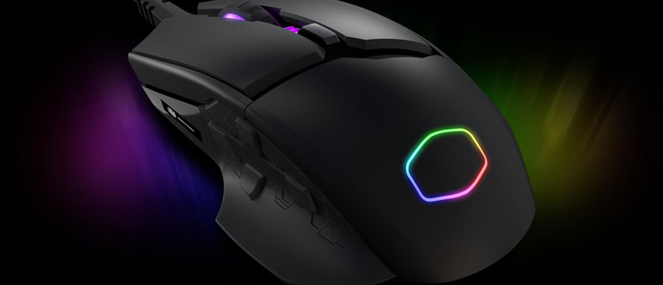 Cooler Master MM830 RGB Gaming Mouse ขาย