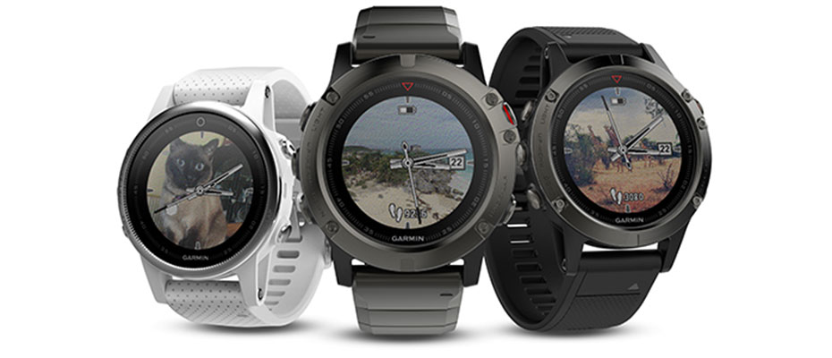 Garmin Fenix 5 Sapphire Black Sport Watch ขาย