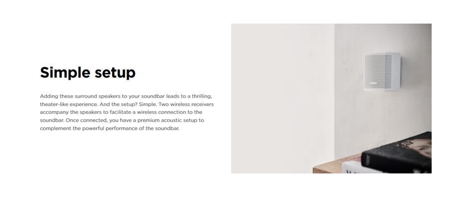 ลำโพง Bose Surround Speakers ซื้อ