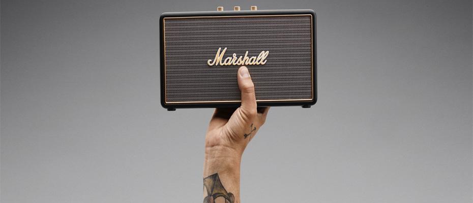 ลำโพง Marshall Stockwell Bluetooth Speaker ไม่มีฝา Case ราคา