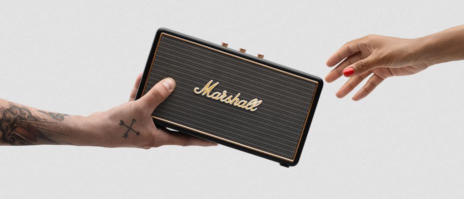 ลำโพง Marshall Stockwell Bluetooth Speaker ไม่มีฝา Case ซื้อ