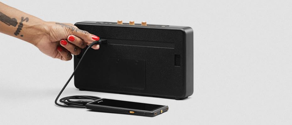 ลำโพง Marshall Stockwell Bluetooth Speaker ไม่มีฝา Case ขาย