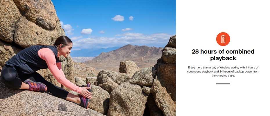 หูฟังไร้สาย JBL Endurance Peak True Wireless ซื้อ