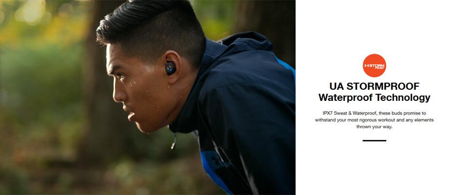 หูฟังไร้สาย JBL Under Armour True Wireless Flash ซื้อ