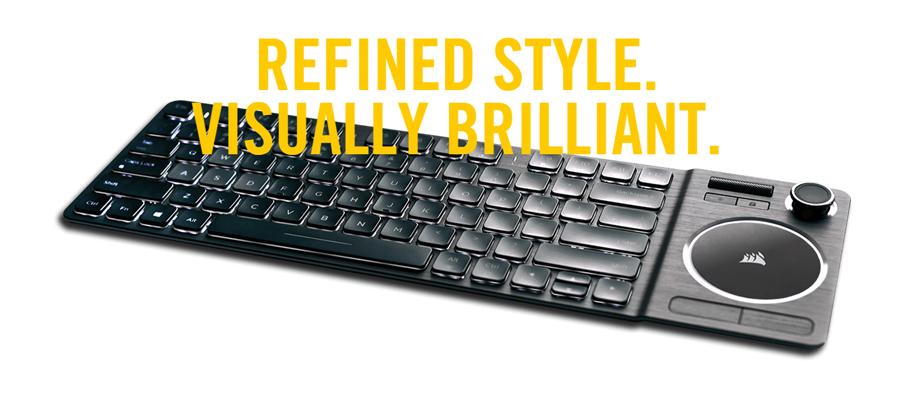 คีย์บอร์ดไร้สาย Corsair K83 Wireless Keyboard ราคา