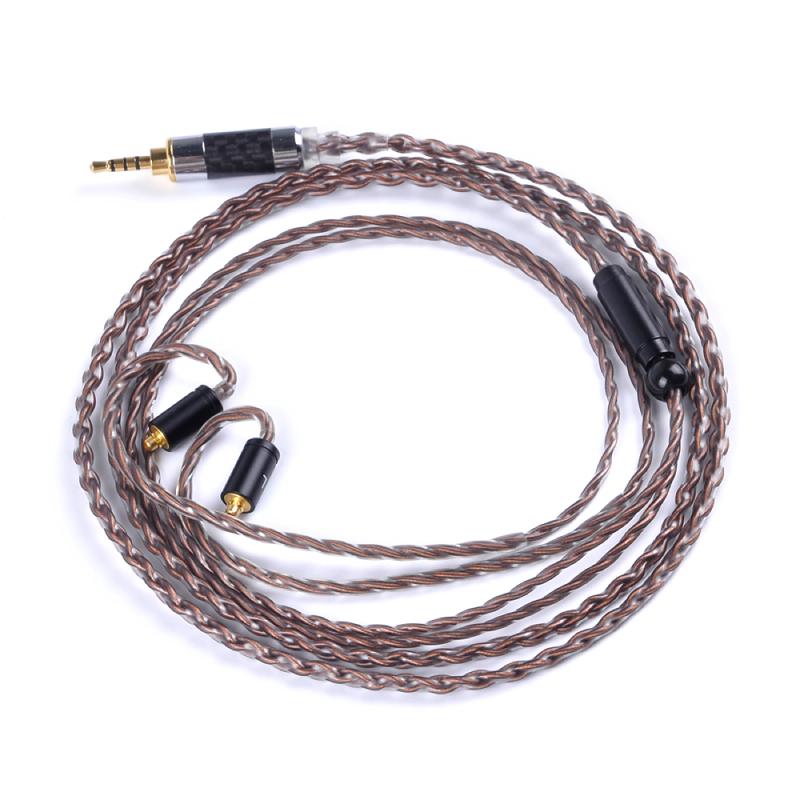 สายอัพเกรด Custom Hand Made 4 Core 7N 2 pin Cable Upgrade