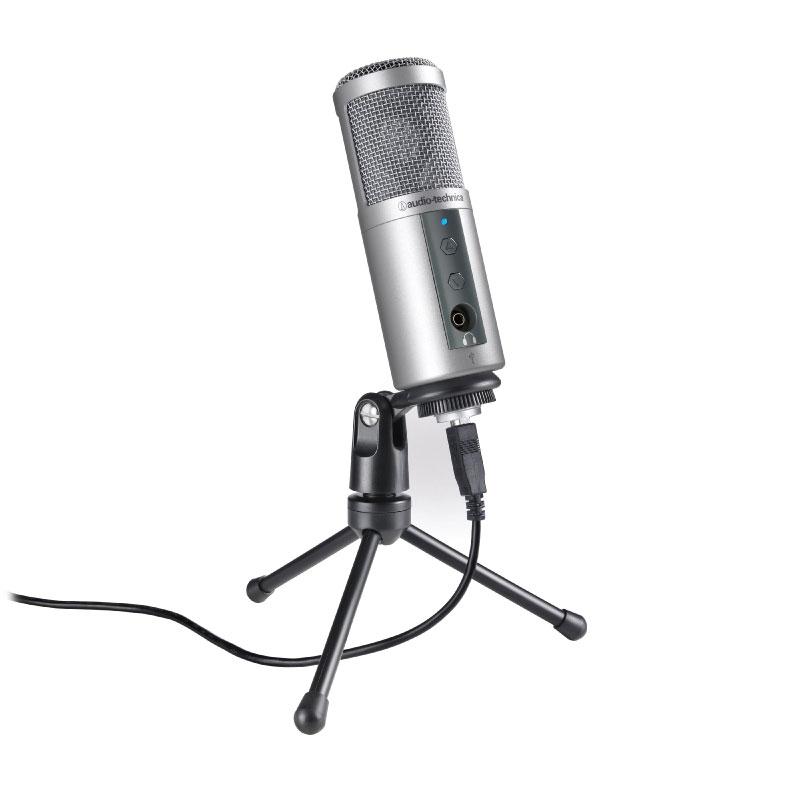 ไมโครโฟน Audio-Technica ATR2500-USB Cardioid Condenser USB Microphone