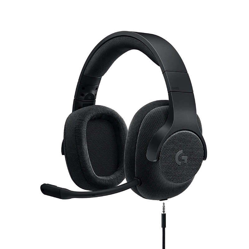 หูฟัง Logitech G433 7.1 Wired Surround Headphone