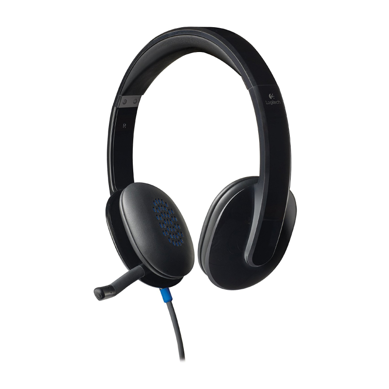 หูฟัง Logitech H540 USB Headphone