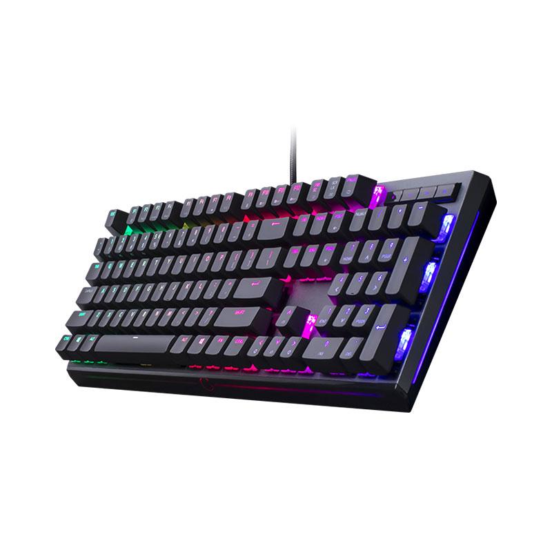คีย์บอร์ด Cooler Master MK750 RGB Mechanical Keyboard Cherry MX Red