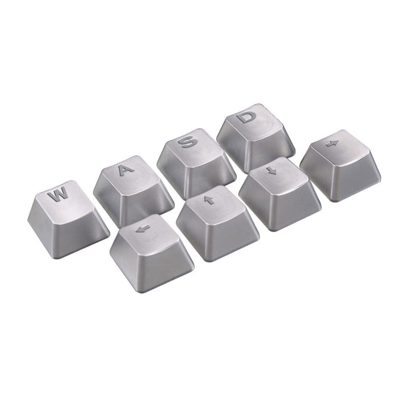 Cougar Metal Keycaps For Cherry Switches