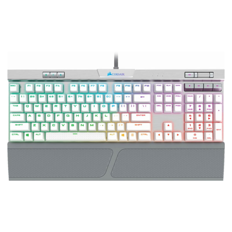 คีย์บอร์ด Corsair K70 MK2 SE RGB Mechanical Keyboard Speed Switch (US)