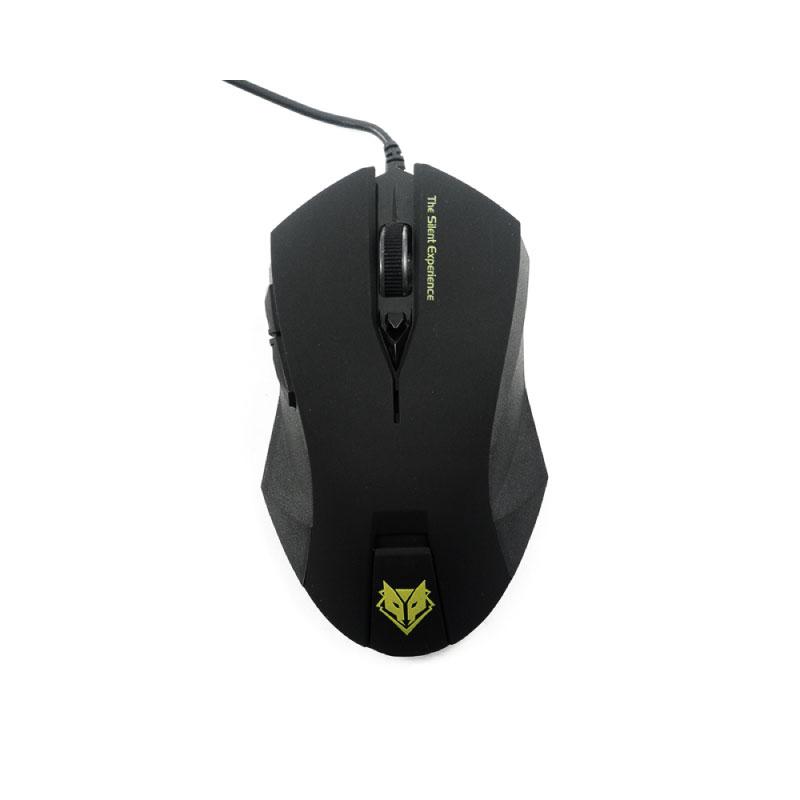 เมาส์ Nubwo Silent NM 019 Gaming Mouse