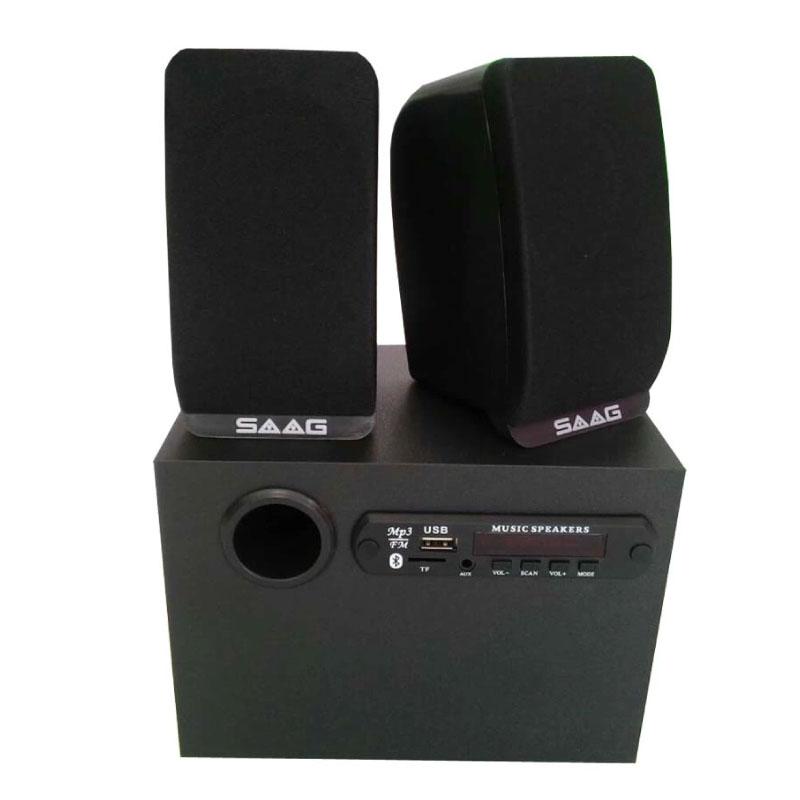 ลำโพง Saag Micro 2.1 BT Bluetooth Speaker