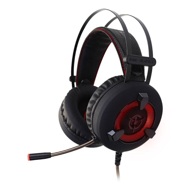 หูฟัง Signo HP-820 7.1 Red Led Headphone
