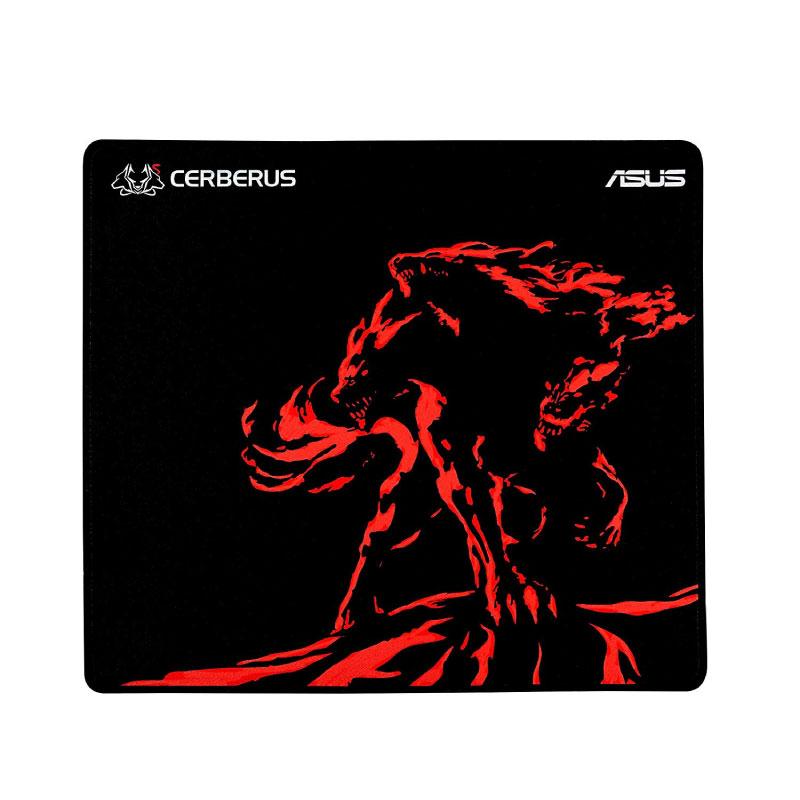 แผ่นรองเมาส์ Asus CERBERUS MAT PLUS RED Mousepad